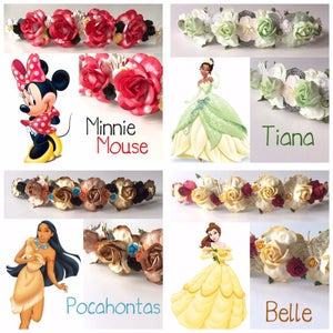 Image of DISNEY PRINCESSES INSPIRED HEADBANDS