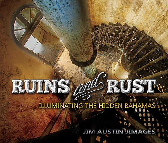 Image of RUINS AND RUST, hard cover.