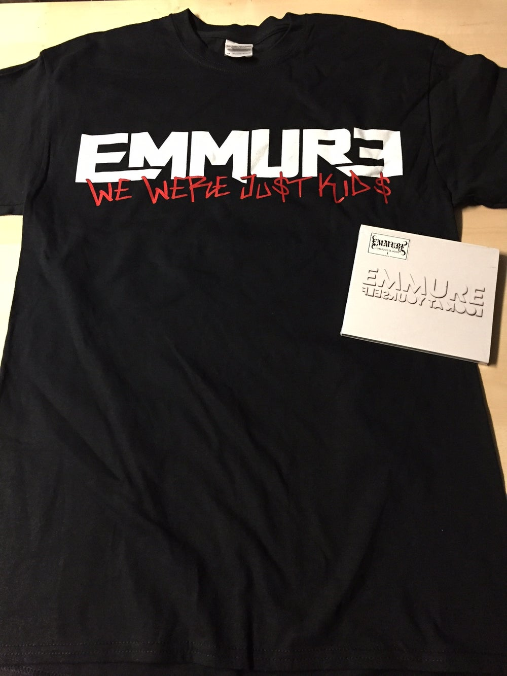 EMMURE - LOOK AT YOURSELF - CD/SHIRT COMBO DEAL #6 SIZE S, M, L & XL