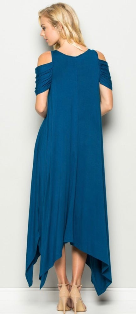 Image of Willow Cold Shoulder Maxi
