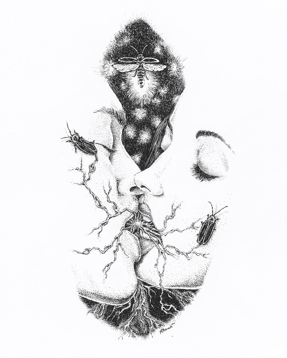Image of The Kiss [giclée print]