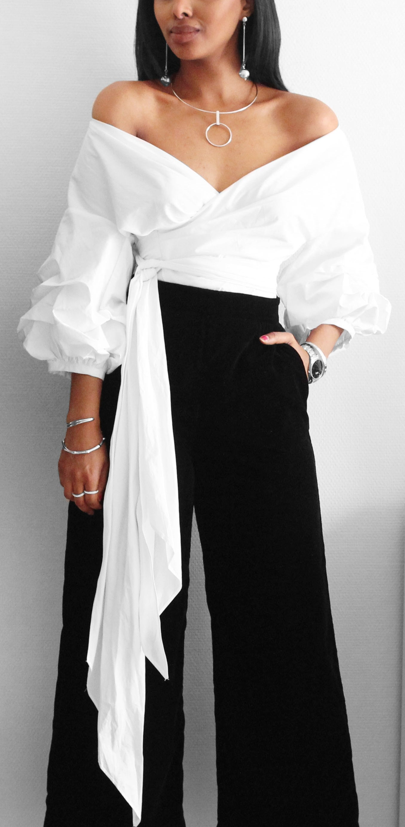 Over The Shoulder Blouse Staple Pieces