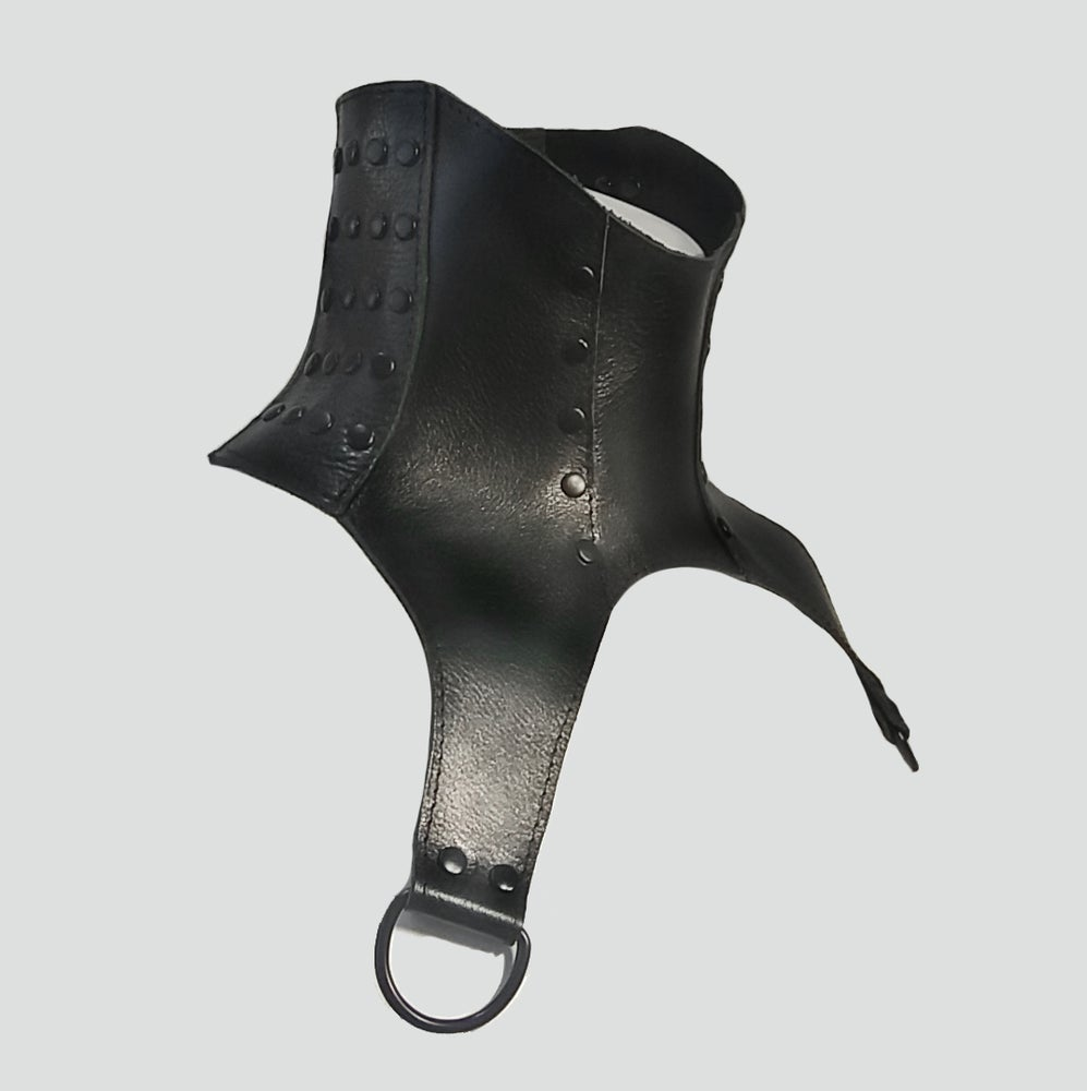 Image of LURSA posture collar  with black rivets