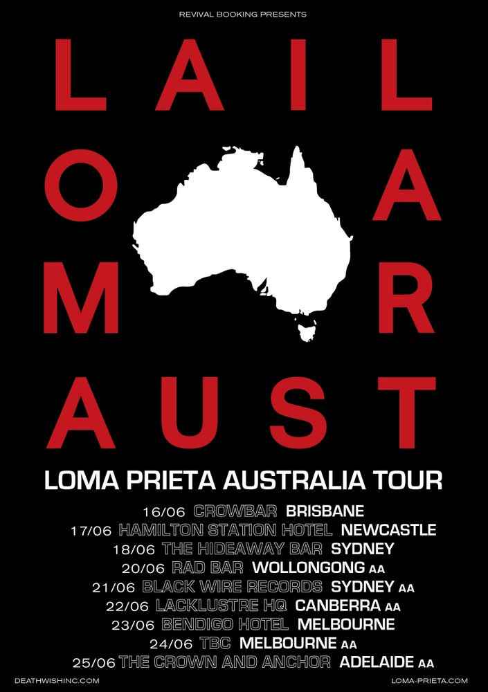Image of Loma Prieta @ Black Wire Records, Sydney AA