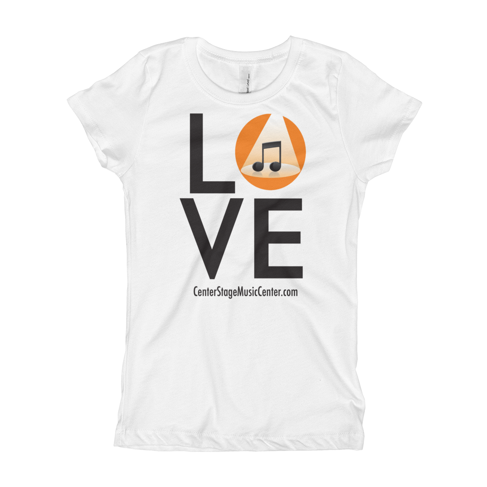 Image of Love T-Shirt - Girls