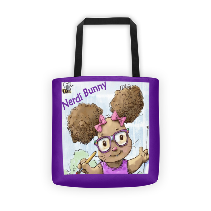 Image of Nerdi Bunny What's My Name Tote