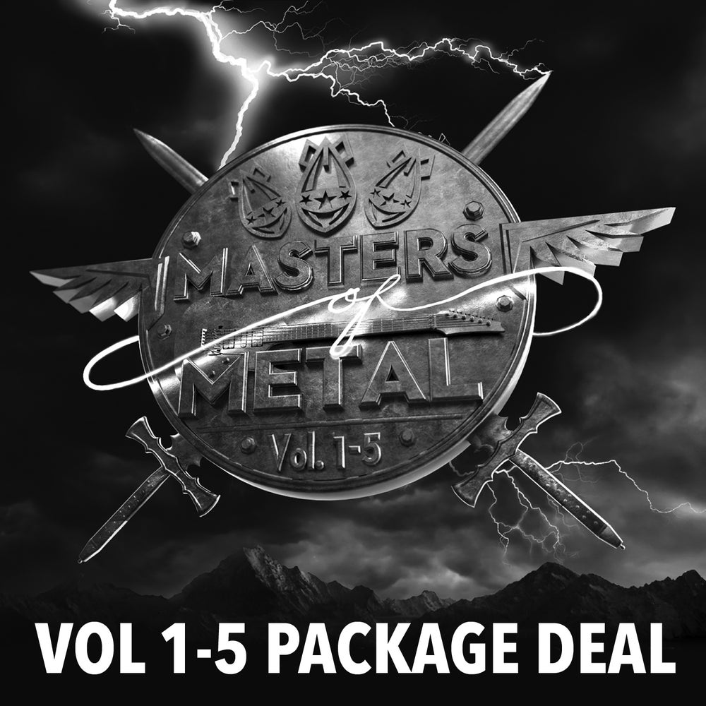 Image of MASTERS OF METAL [5 CD Package Deal]