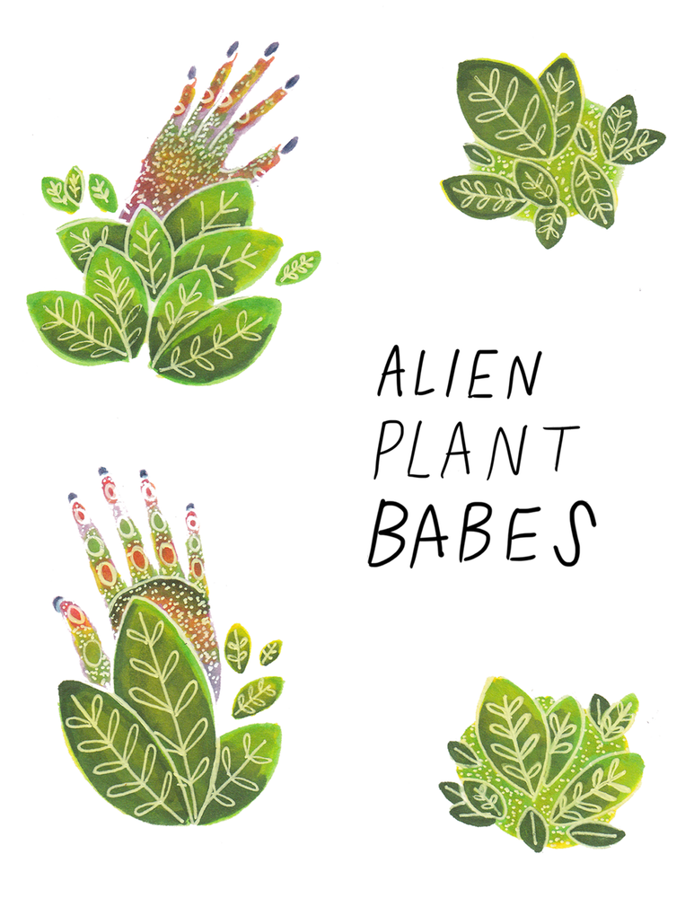 Image of Alien Plant Babes