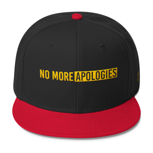 Image of No More Apologies Hat (Snap back)