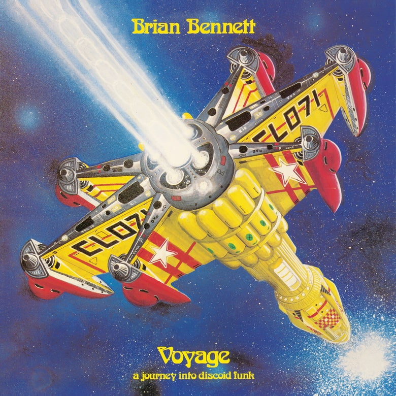 Image of Brian Bennett 'Voyage - A Journey Into Discoid Funk' (180 Gram Heavy Vinyl)