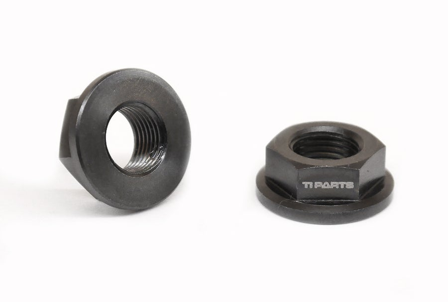 Image of Ti Parts Workshop Titanium Flange Nuts for 2/6 Speeds