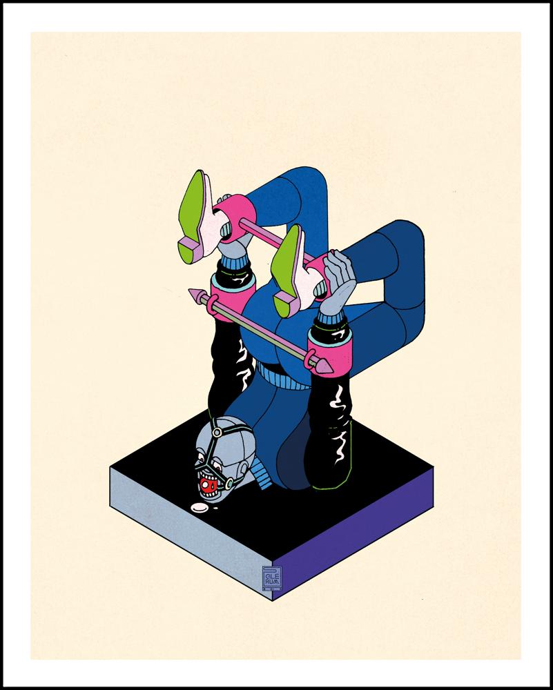 Image of Unusual Punishment - P (40x50cm)