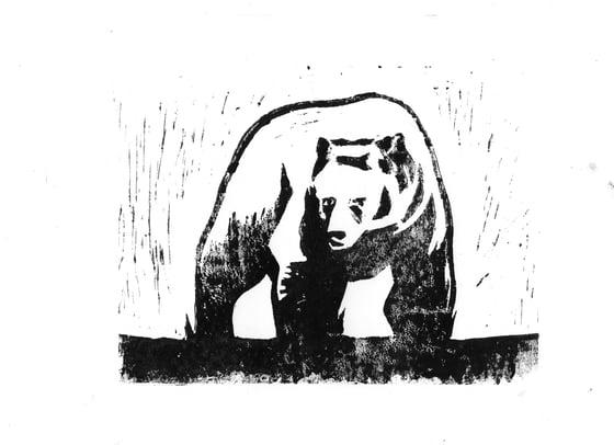 Image of Bear Print #1
