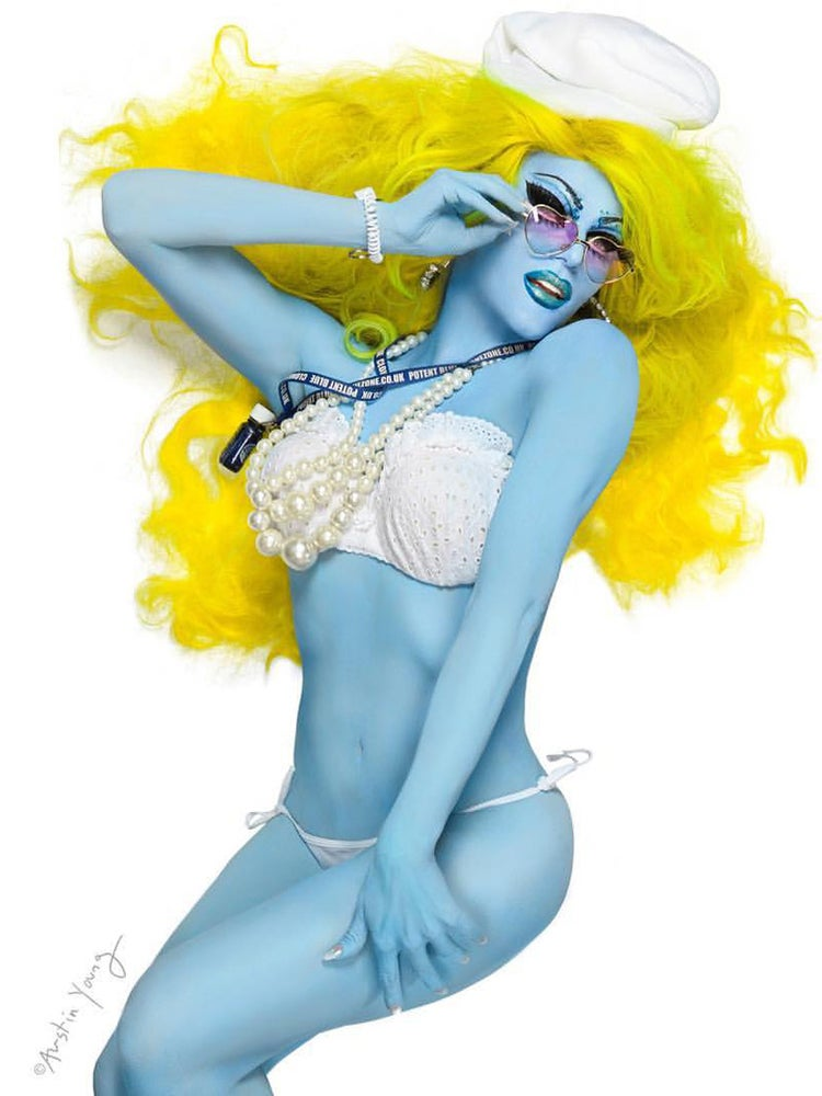 Image of Willam! Smurfette Pin-up