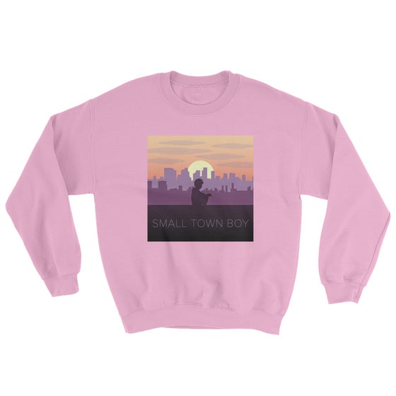 Image of Small Town Boy Pink Crewneck