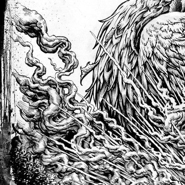 """Image of """"Urgent Need"""" original bird inks"""