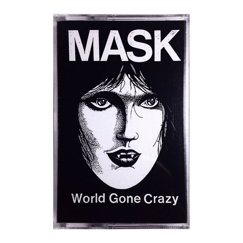 "Image of ""MASK"" World Gone Crazy tape"