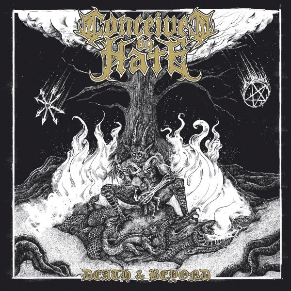 "Image of CONCEIVED BY HATE  "" Death and Beyond "" CD"