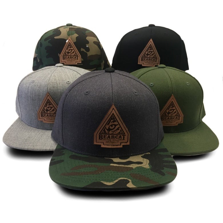 Image of Engraved Patch Snap Back