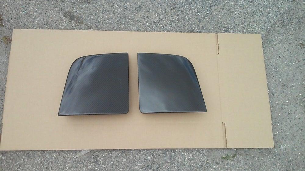 Image of 91-99 MR2 MK2 SW20 Carbon Fiber Headlight Covers