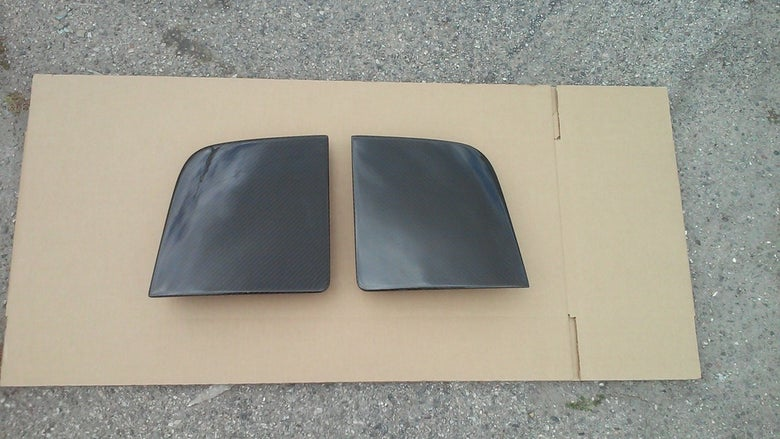 Image of 91-99 MR2 MK2 SW20 Carbon Fiber Headlight Covers