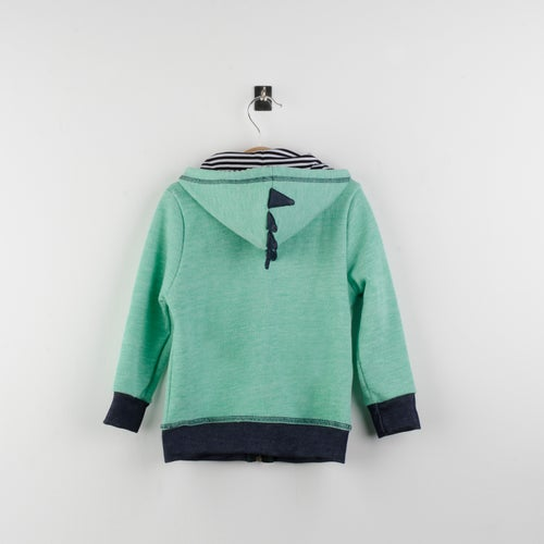 Image of Sudadera Dragon Verde- Green Dragon Fleece jacket