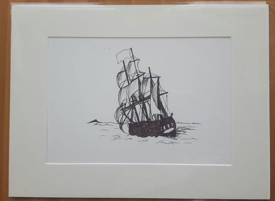 Image of At Sea