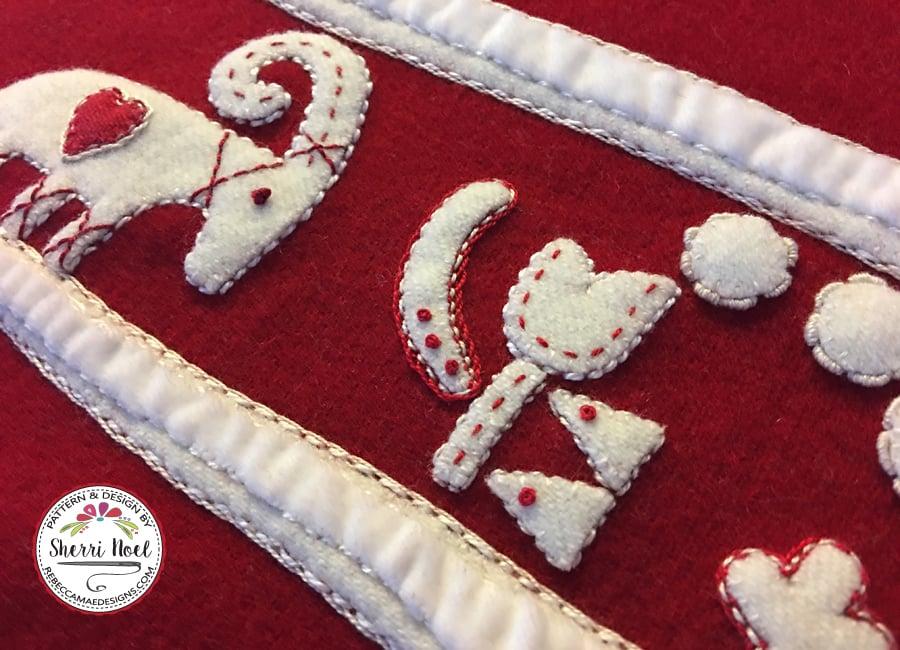 Image of Jul i Scandinavia ~ Christmas Quilt Pattern