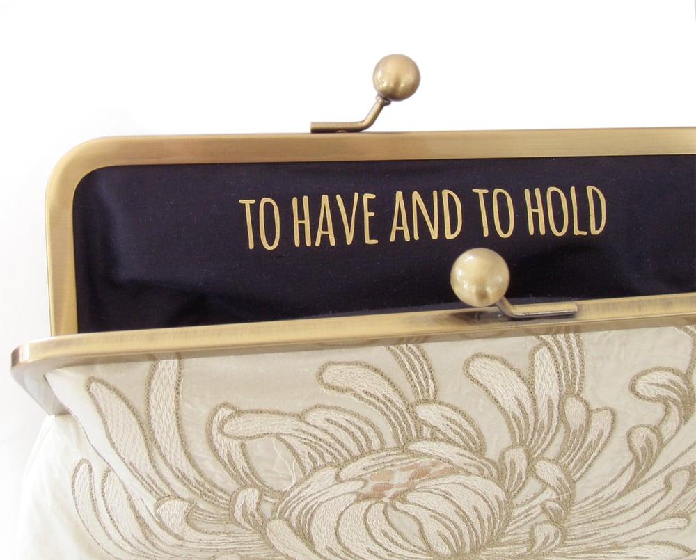 Image of Customise your bag, secret message, custom logo