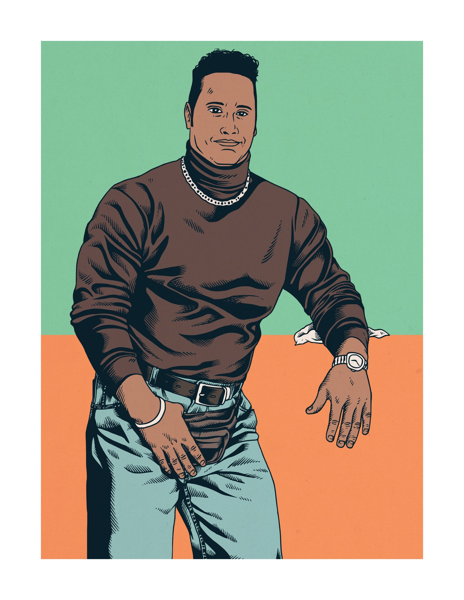 "Image of Dwayne ""The Rock"" Johnson"