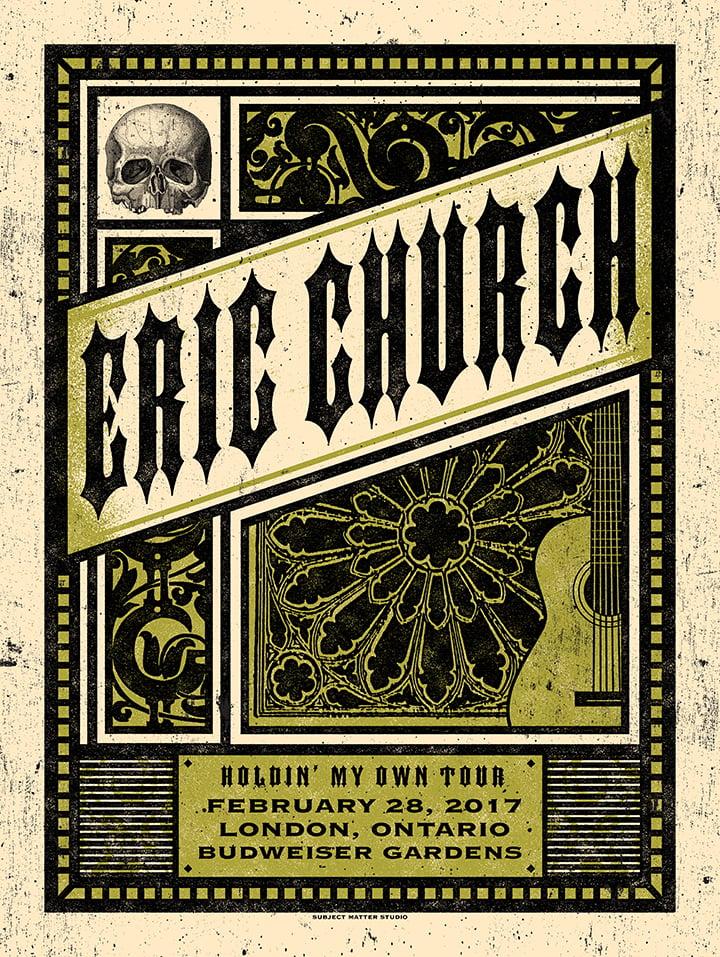 Image of Eric Church, London, Ontario 03.01.17