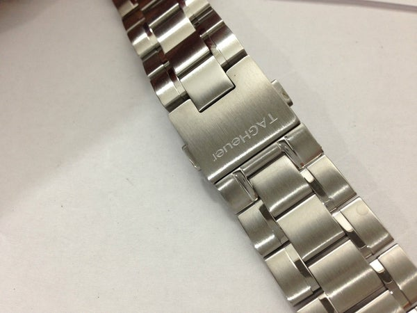Image of TAG HEUER SPORTS STAINLESS STEEL GENTS REPLACEMENT WATCH STRAP,20MM AND 22MM,