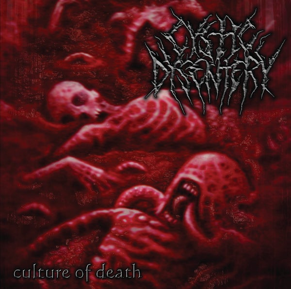 "Image of CYSTIC DYSENTERY "" Culture of Death ' CD"