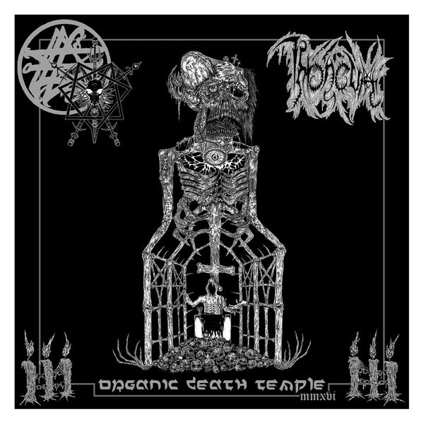 "Image of THRONEUM "" Organic Death Temple MMXVI "" CD"