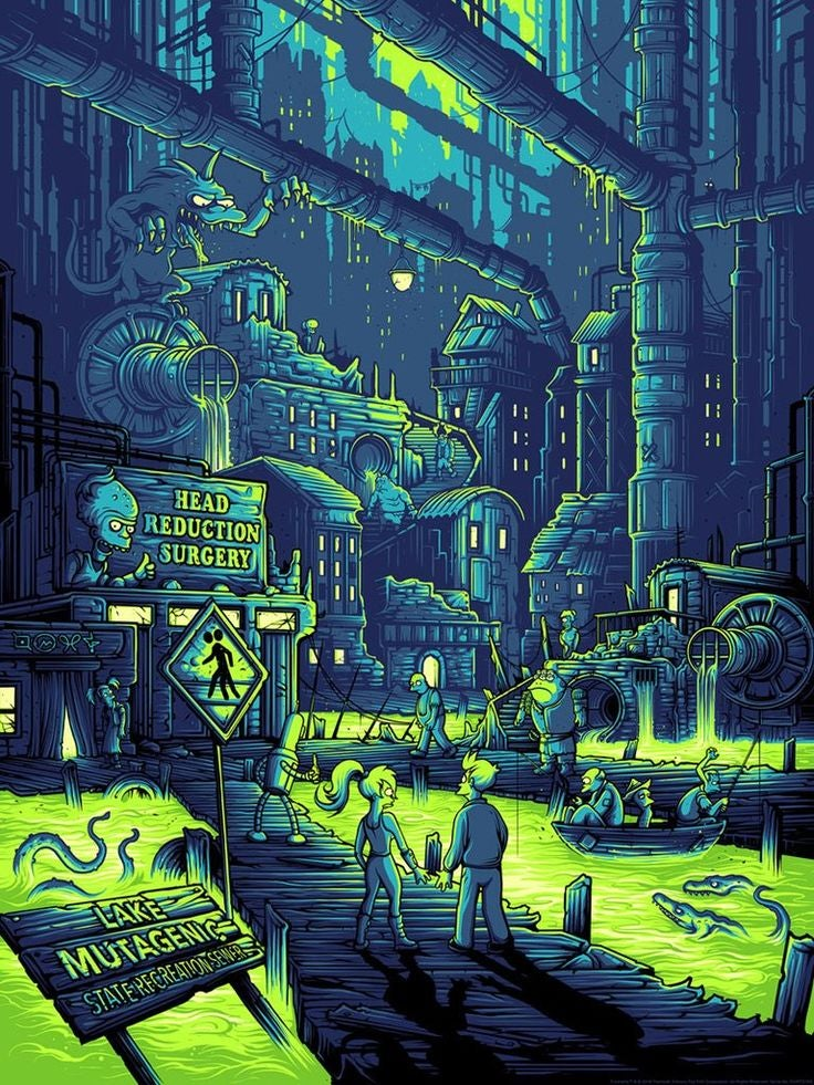 Image of You Guys Realize You Live In A Sewer, Right? - Dan Mumford