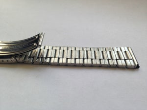 Image of NEW SEIKO GENUINE STAINLESS STEEL GENTS STRAP,19MM--( REF# SS-11 )