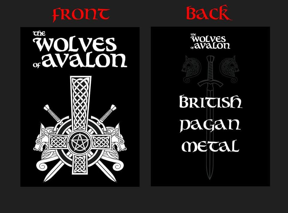 Image of wolves of avalon t-shirt