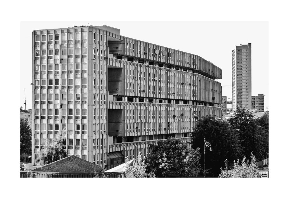 Image of Robin Hood Gardens, East London