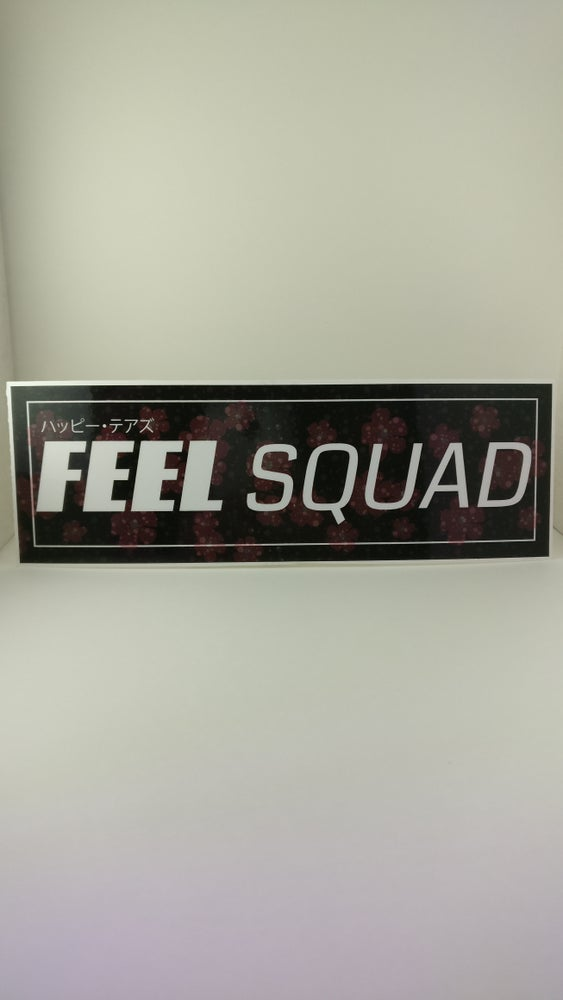 Image of FEEL Squad | vinyl UV Coating