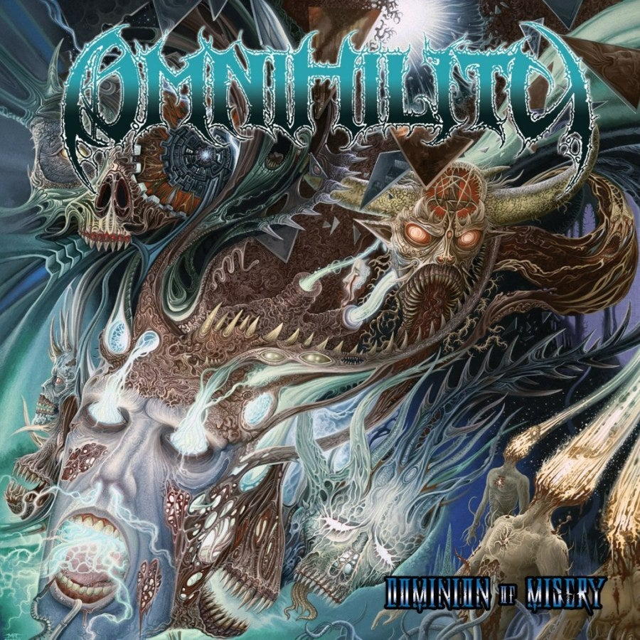 Image of OMNIHILITY - Dominion Of Misery CD