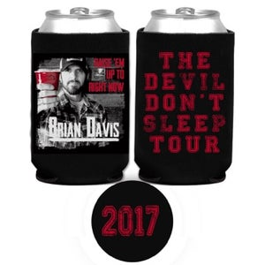 "Image of BD ""RAISE EM UP TO RIGHT NOW"" 2017 Tour Koozie"