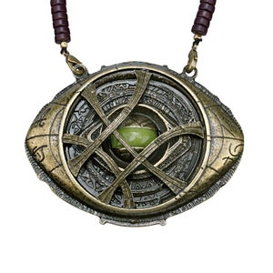 Image of Dr Strange Eye of Agamotto Necklace Pendant Cosplay Prop Replica