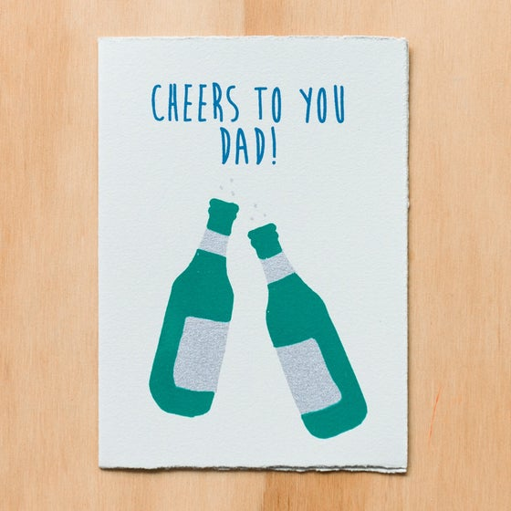 Image of Cheers to you Dad