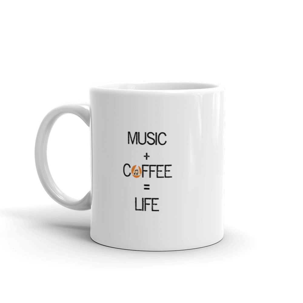 Image of Music+Coffee=Life