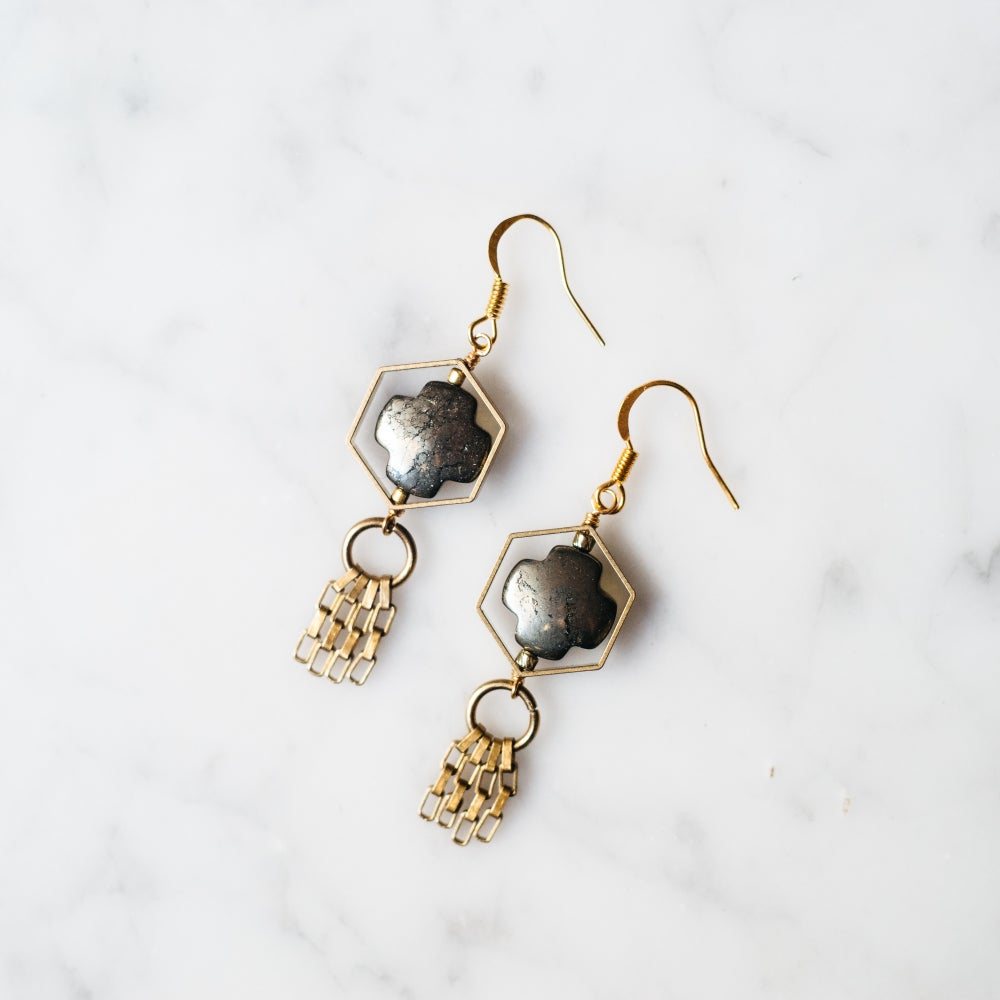 Image of FLORET EARRINGS