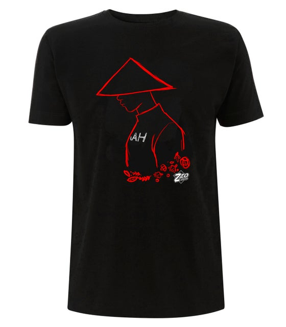 Image of Red Ninja Sketch Tee