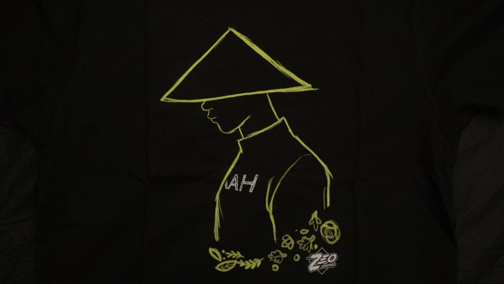 Image of Yellow Ninja Sketch Tee