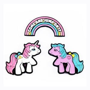 Image of My Pony Enamel Pin Set of 3
