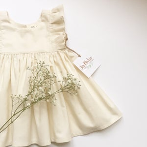 "Image of The ""Kelsey"" dress in ivory"