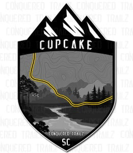 "Image of ""Cupcake"" Trail Badge"